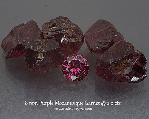 Mozambique Garnet