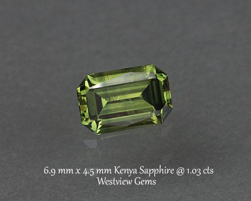 1.03 ct. Sapphire